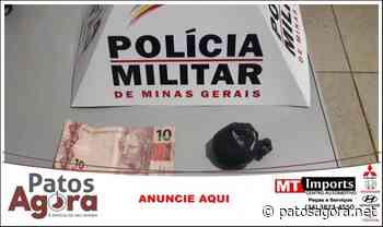 Homem de 32 anos é preso com cocaína em Monte Carmelo - Patos Agora