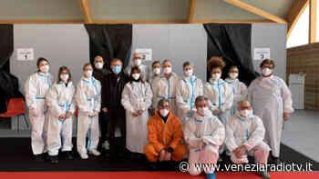 Jesolo, aperte le vaccinazione al palazzetto Antiche Mura - Televenezia