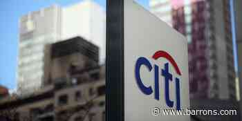 Striking Price: Citigroup Stock Looks Like a Good Bet. How to Play Its Earnings With Options. - Barron's