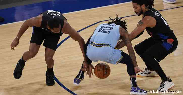 Quick Recap: Memphis Grizzlies gets caught lacking in OT loss to Knicks