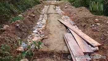 Habitantes de San Calixto y alcaldía de Suaza mejoraron un tramo vial - Huila