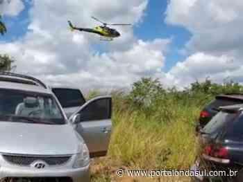 Veículos utilizados no assalto a bancos em Mococa são encontrados em Guaranésia - Portal Onda Sul