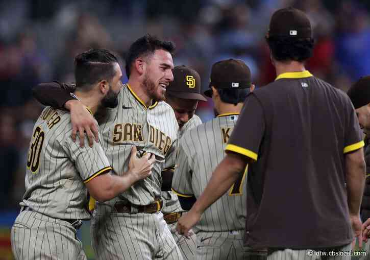 Rangers On Wrong Side Of History As Joe Musgrove Throws First-Ever No-Hitter For Padres