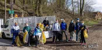 Val-d'Oise. A Domont, les athlètes nettoient la forêt de Montmorency - actu.fr