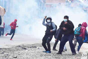 Afines a Armin Lluta convocan a bloquear la ciudad de La Paz - Periódico Bolivia