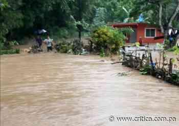 Cuatro casas afectadas por lluvias en Tonosí - Crítica Panamá