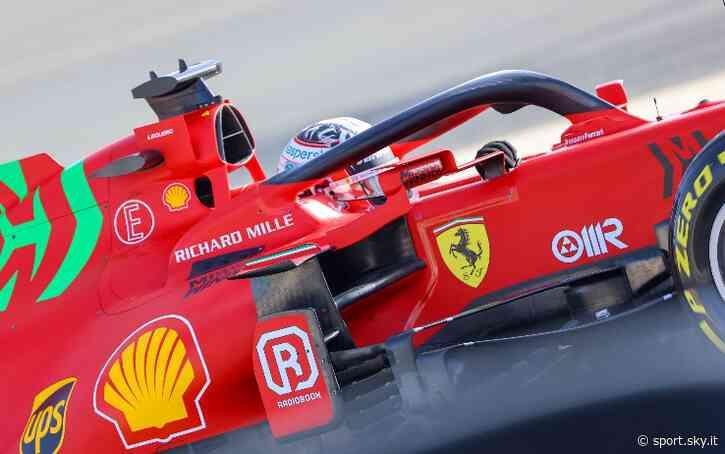 Formula 1, Ferrari: Leclerc si allena a Fiorano con la SF71H. E riceve un regalo speciale - Sky Sport