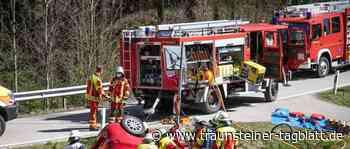 Verkehrsunfall mit Schwerverletztem – Notrufsystem setzt Notruf ab - Traunsteiner Tagblatt