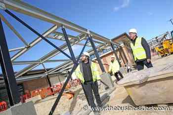£4m leisure centre redevelopment taking shape | TheBusinessDesk.com - The Business Desk
