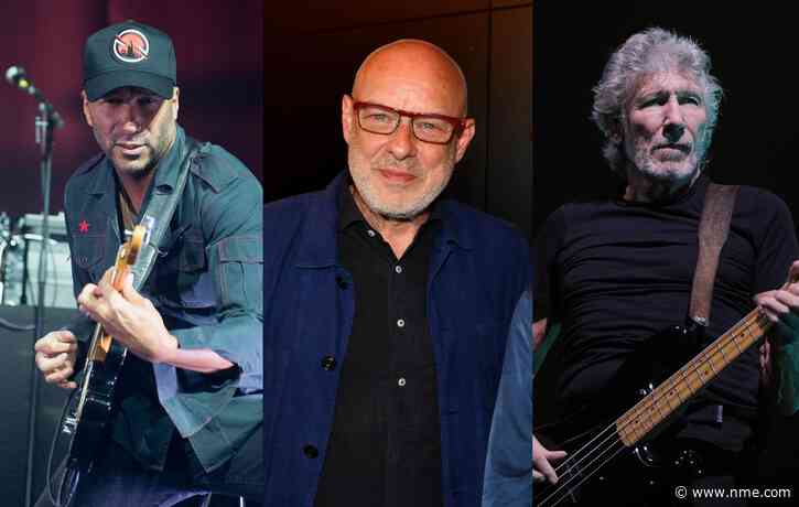 Tom Morello, Brian Eno and Roger Waters to play Live for Gaza fundraiser