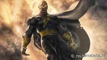 """""""Black Adam"""" mit Dwayne Johnson: Kurz vor Drehstart des DC-Abenteuers wurde noch schnell eine Schlüsselrolle besetzt"""