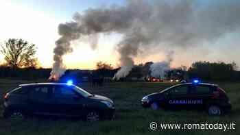 Tivoli: bruciano rifiuti speciali e provocano incendio