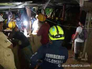 Dos mineros atrapados en Marmato - La Patria.com