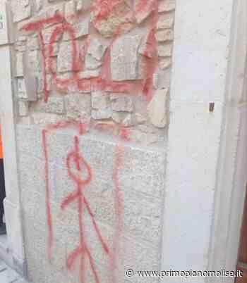 Guardialfiera, minacce di morte e disegno dell'impiccato contro Tozzi   PrimoPiano Molise - Primo Piano Molise
