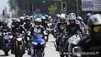 Les motards manifestent ce week-end à Lille, mobilisation mystère à Arras - La Voix du Nord