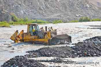 Ejecutan trabajos para evitar posibles desbordes del río Huaura - Radio Nacional del Perú