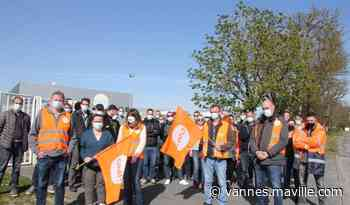 Poursuite de la grève chez Axilone Plastique, à Auray et Guidel - maville.com