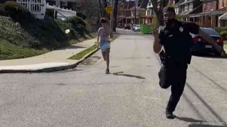 WATCH: Girl Challenges Pittsburgh Police Officer And Former Pitt Football Player To Race