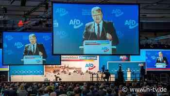 Bundesparteitag begonnen: AfD vermeidet Streit um Spitzenkandidatur