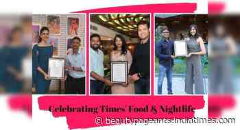 Miss India queens felicitate the winners of Times' Food & Nightlife Awards 2021! - Femina Miss India