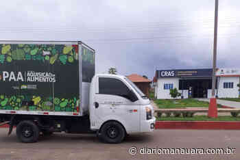 Idam entrega 1,2 tonelada de alimentos pelo PAA em Itapiranga - Diário Manauara