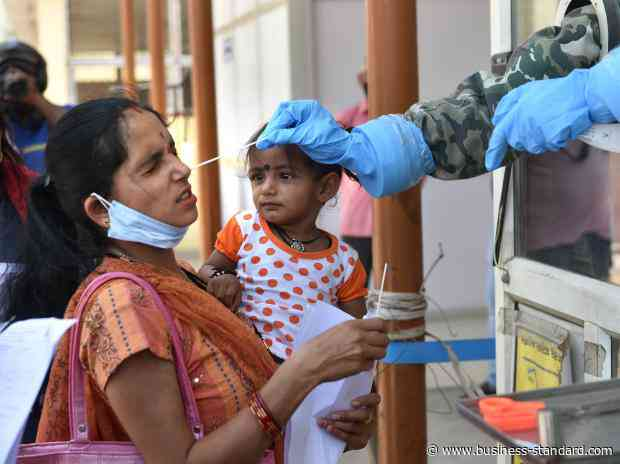 Covid LIVE: UP sees record spike of 12,787 new cases; over 6,000 in Kerala - Business Standard