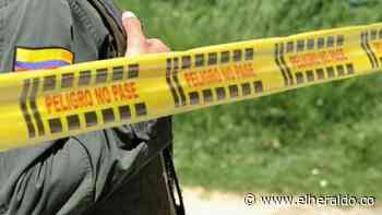 Matan a un hombre en el municipio de Luruaco - EL HERALDO