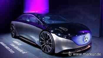 Mercedes: Daimler stellt Super-Limousine vor - Reichweite sorgt für Staunen - Merkur Online