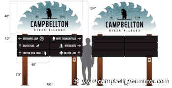 Campbellton to get new wayfinding, welcome signage - Campbell River Mirror
