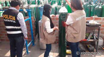 Chosica: Policía interviene inmueble donde funcionaba planta de oxígeno clandestino [VIDEO] - ElPopular.pe