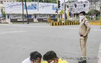 Coronavirus   Madhya Pradesh under 60-hour lockdown amid COVID surge - The Hindu