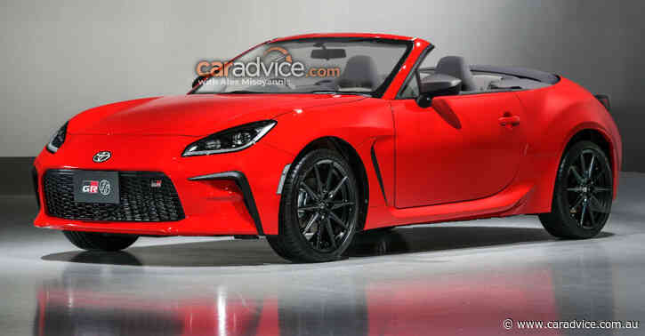 2022 Toyota GR 86 Convertible rendered: New sports coupe gets the angle-grinder treatment