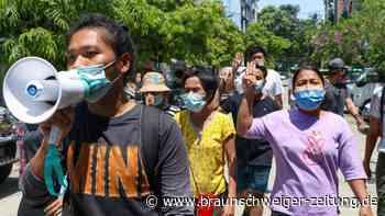 Nach dem Militärputsch: 19 Menschen in Myanmar zum Tode verurteilt - Neue Proteste