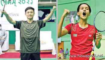 Bangladesh Games / Gourab, Urmi win gold in badminton - newagebd.net