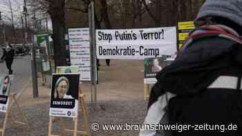 Russischer Oppositioneller: Protestcamp für Freilassung von Nawalny am Brandenburger Tor