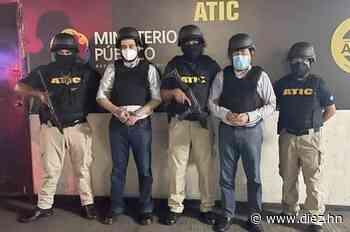A la cárcel de Támara mandan a Marco Bográn y Alex Moraes, detenidos por el caso de los hospitales móviles - Diez.hn
