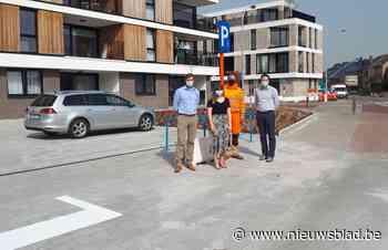 Nieuwe openbare parking op hoek Mieregemstraat-Oudstrijderss... (Merchtem) - Het Nieuwsblad