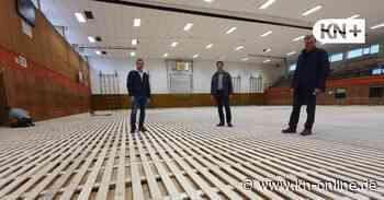 Der Schulverband Bordesholm lässt Hallenboden in der HBS sanieren - Kieler Nachrichten