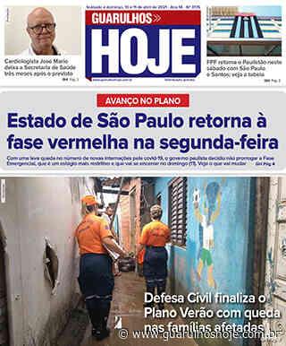 Jornal Guarulhos Hoje – Ed. 3175 – 10 e 11/04/2021 - Guarulhos Hoje