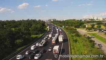 Rodovia Ayrton Senna tem lentidão após acidentes entre São Paulo e Guarulhos - Mobilidade Sampa