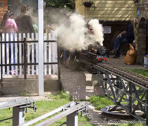 Take a ride on one of London's miniature steam trains