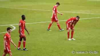 Sieben Tore bei Eintracht-Spiel: Die B-Elf des FC Bayern patzt im Titelkampf