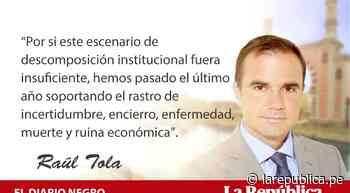 El voto del miedo, por Raúl Tola - LaRepública.pe
