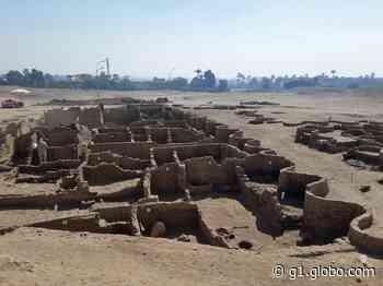 Arqueólogos descobrem 'Pompeia' no Egito - G1
