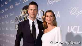 Im TV: Tom Brady macht Gisele Bündchen Liebeserklärung - Promiflash.de