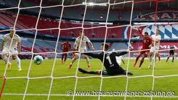 Fußball-Bundesliga: Union trotzt Bayern Remis ab – Frankfurt schlägt Wolfsburg