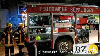 Feuerwehr-Löschzug Nord-Elm rückt nachts nach Süpplingen aus