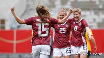 Fünf Treffer gegen Australien: DFB-Team trotzt dem Corona-Schock