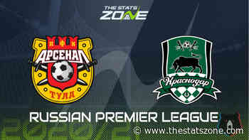 2020-21 Russian Premier League – Arsenal Tula vs Krasnodar Preview & Prediction - The Stats Zone