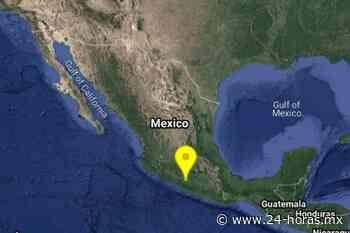 Se registra sismo magnitud 4.7 en Ciudad Altamirano, Guerrero - 24 HORAS